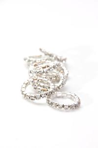 braid bling silver